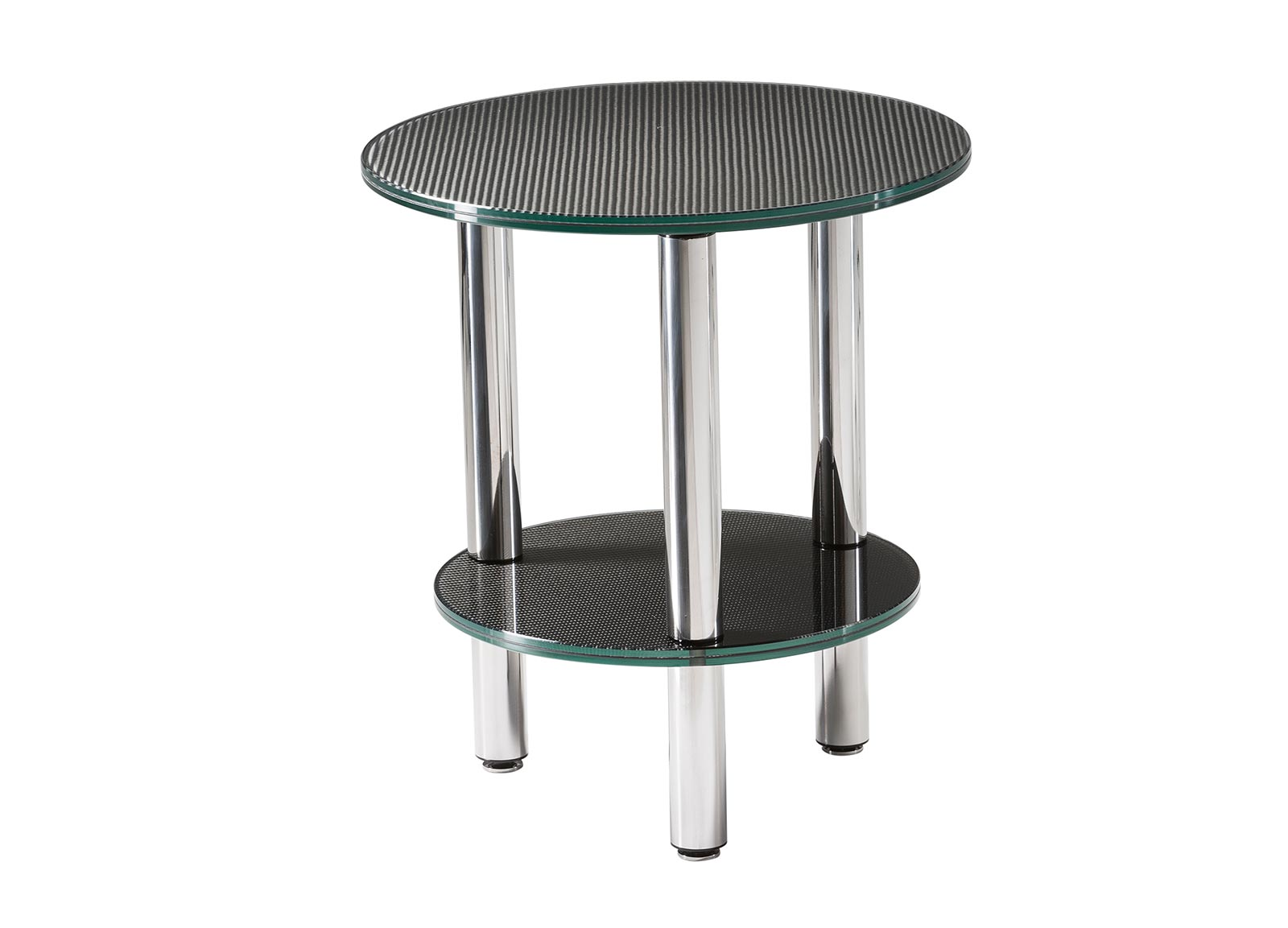 Coffee tables side table tondo bc 50 formula carbonio for Side coffee table