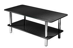 Carbon Fiber Coffee Table DOPPIO BC 100/48